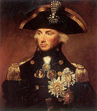 Admiral Lord Nelson by Lemuel Abbott
