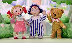 Looby Loo  and Andy Pandy, and Teddy
